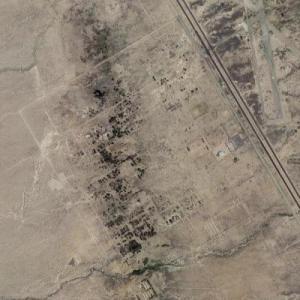 Manzanar Internment Camp (Google Maps)