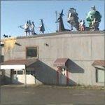 Wizard of Oz Metal Statues (StreetView)
