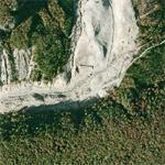 Large landslide