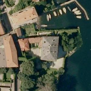 George Clooney's house (Google Maps)