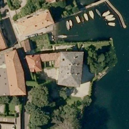 George Clooney S House In Laglio Italy Google Maps