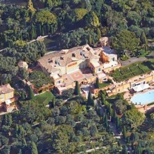 Lily Safra's House (Villa La Leopolda) (Google Maps)