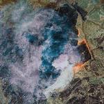 Fire in Cameroon