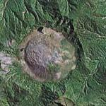Chaiten Volcano Eruption - 6 May, 2008 (Google Maps)