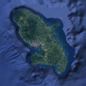 Martinique Island (Google Maps)