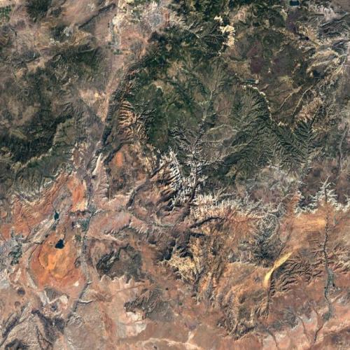 Zion National Park (Google Maps)