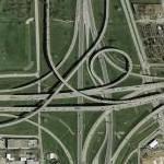 I-35E and I-635 Interchange