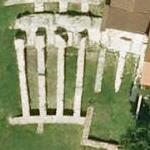 Ruins of the amphitheatre of Mediolanum (Google Maps)