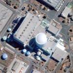 Krsko nuclear power plant (Google Maps)