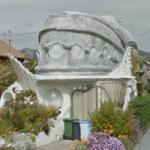 Fish Shaped House (StreetView)