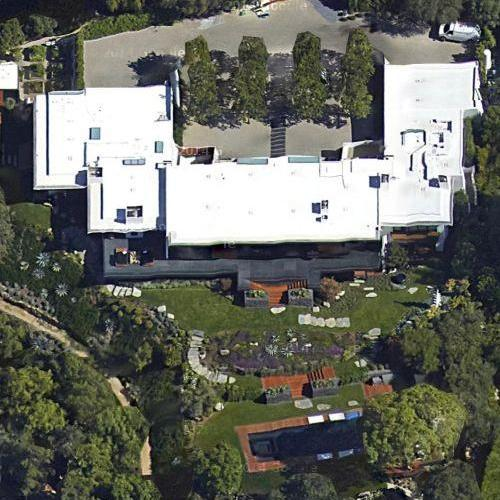 Jennifer Aniston's house (Google Maps)