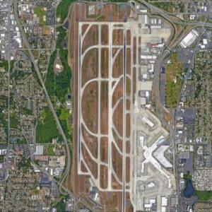 Seattle-Tacoma Aiport (SEA) (Google Maps)