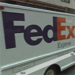 FedEx Express Truck (StreetView)