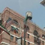 Italian flag in Little Italy NY