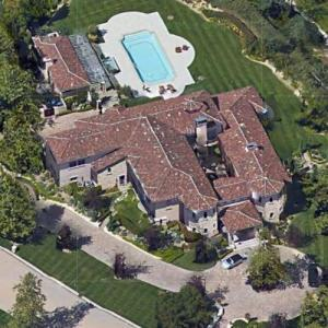 Britney Spears Leased House (former) (Google Maps)