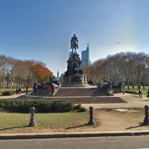 'The Washington Monument' by Rudolf Siemering (StreetView)