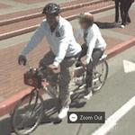 Tandem bicycle (StreetView)