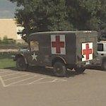 Dodge M43 military ambulance