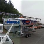 Purflo Team SNBSM racing boat