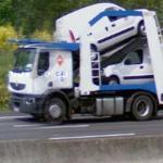 Car transporter (StreetView)