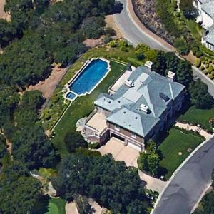 Vin Scully's house (Google Maps)