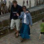 Waiving to Google (StreetView)