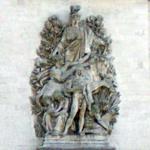 """La Paix de 1815"" by Antoine Etex (StreetView)"