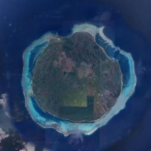 Mel Gibson's private island (Google Maps)