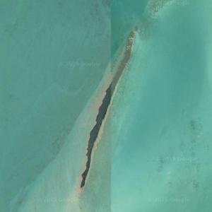 Leonardo DiCaprio's private island (Google Maps)