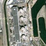 Tricastin nuclear power plant (Radiation leak July 8, 2008) (Google Maps)