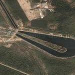 Water supply canal and reservoir (Google Maps)