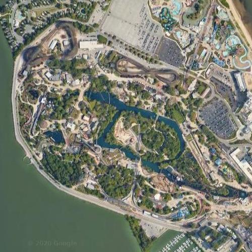Cedar Point (Google Maps)