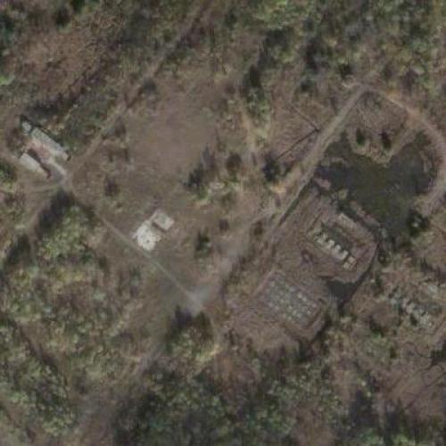 Avro Arrow engine test site (Google Maps)