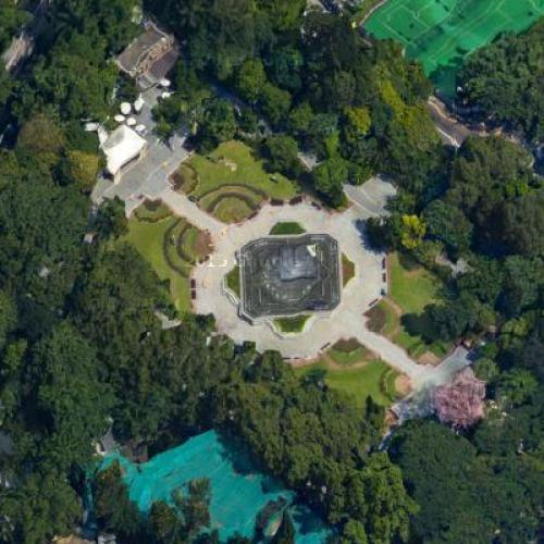 The Hong Kong Zoological and Botanical Gardens (Google Maps)