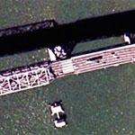 Earthquake damaged section of Bay Bridge (Google Maps)