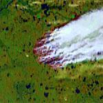 Enormous Fire (Google Maps)