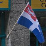 Municipal flag of Saint-Malo (StreetView)