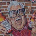 Harry Caray Budweiser ad (StreetView)