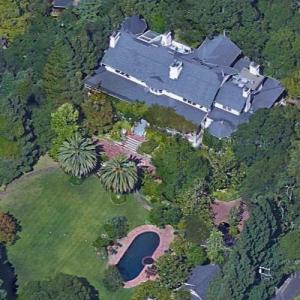 George Lucas' house (Google Maps)