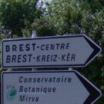 Turn right for Brest (StreetView)