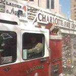 Charlotte Fire Department Ladder 4 truck