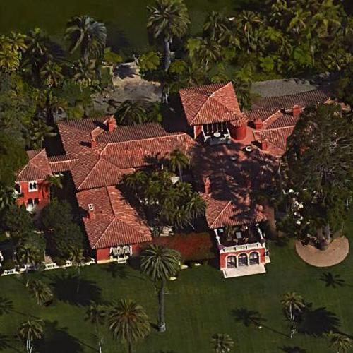 Ty Warner S House In Montecito Ca Virtual Globetrotting