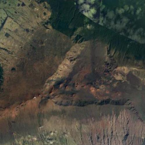 Haleakala Crater - Maui (Google Maps)