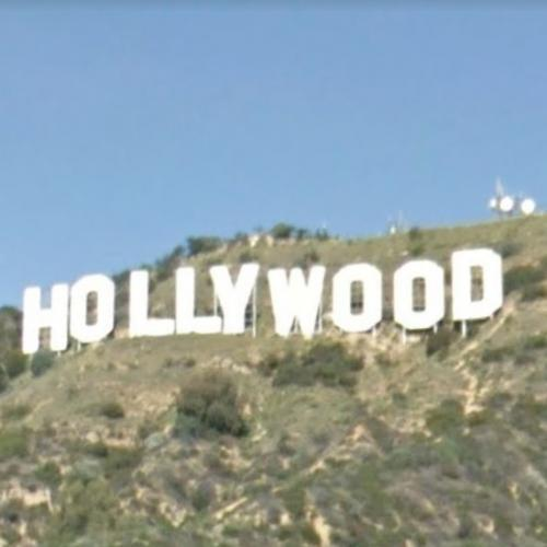 Holywood Sign (StreetView)