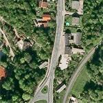Jörg Haider car crash site (October 11, 2008) (Google Maps)
