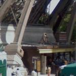 Pilier Nord - La Tour Eiffel (StreetView)