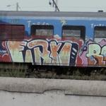 Nice Graffiti Trains