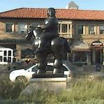 Man on a Horse (StreetView)