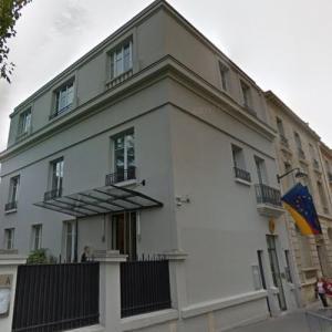 Embassy of Germany, Paris (StreetView)