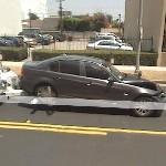 Damaged car (StreetView)